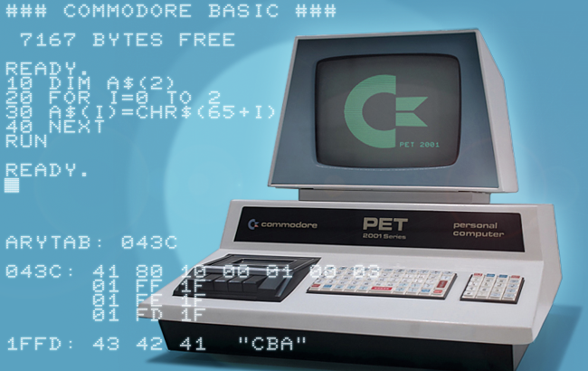 Variables and Strings in Commodore BASIC