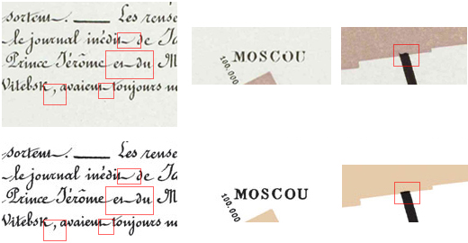 Minard / Morse / Tufte (comparison)