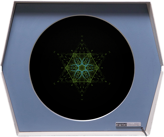 Snowflake for the PDP-1 (montage)